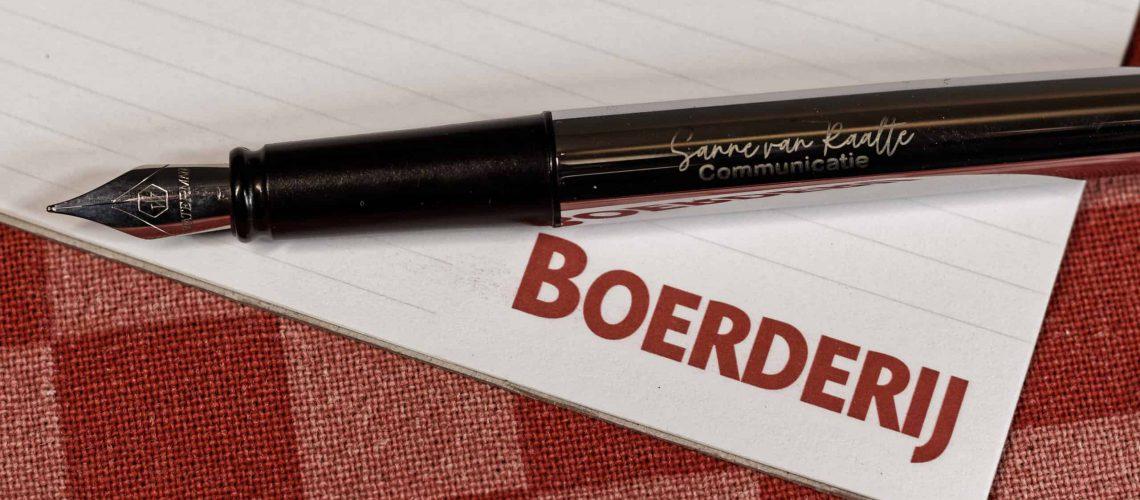 Sanne van Raalte schrijft voor vakblad De Boerderij